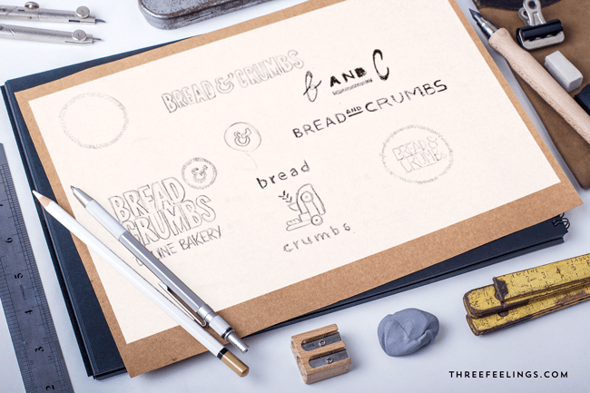 diseño de tu identidad bocetos