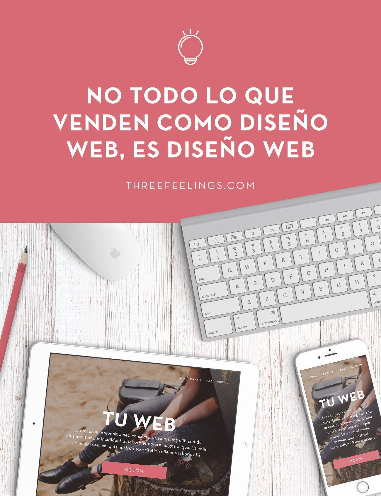 No todo lo que venden es diseño web