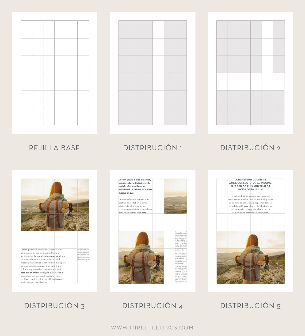 Diseño de interior de ebook - espacios