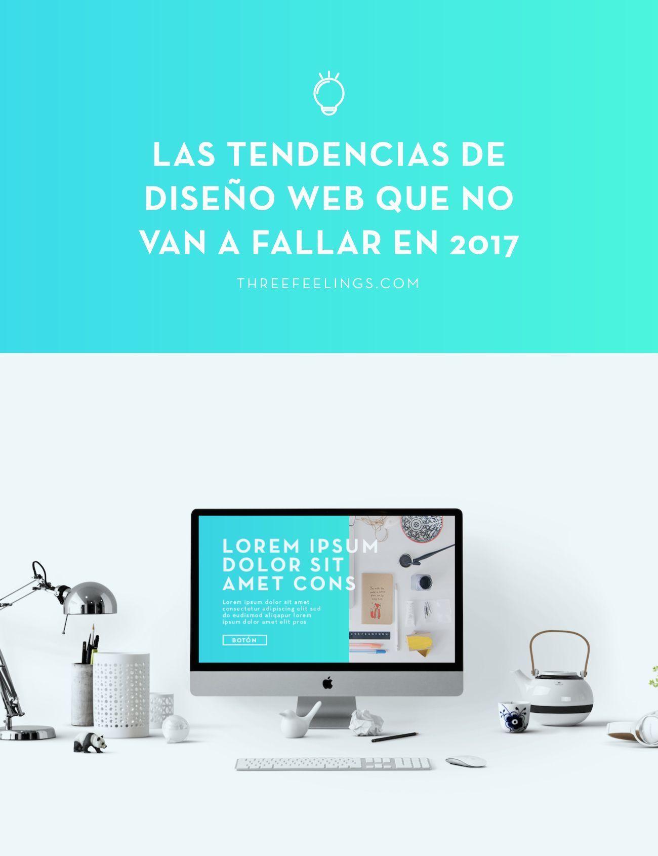 Tendencias de diseño web de 2017