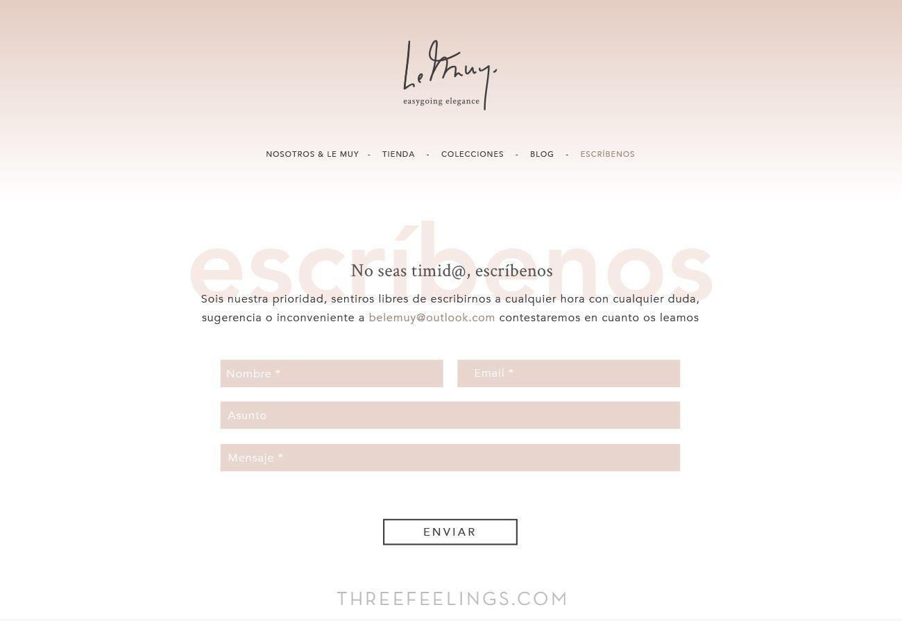 Tendencias de diseño web de 2017 - espacios blancos