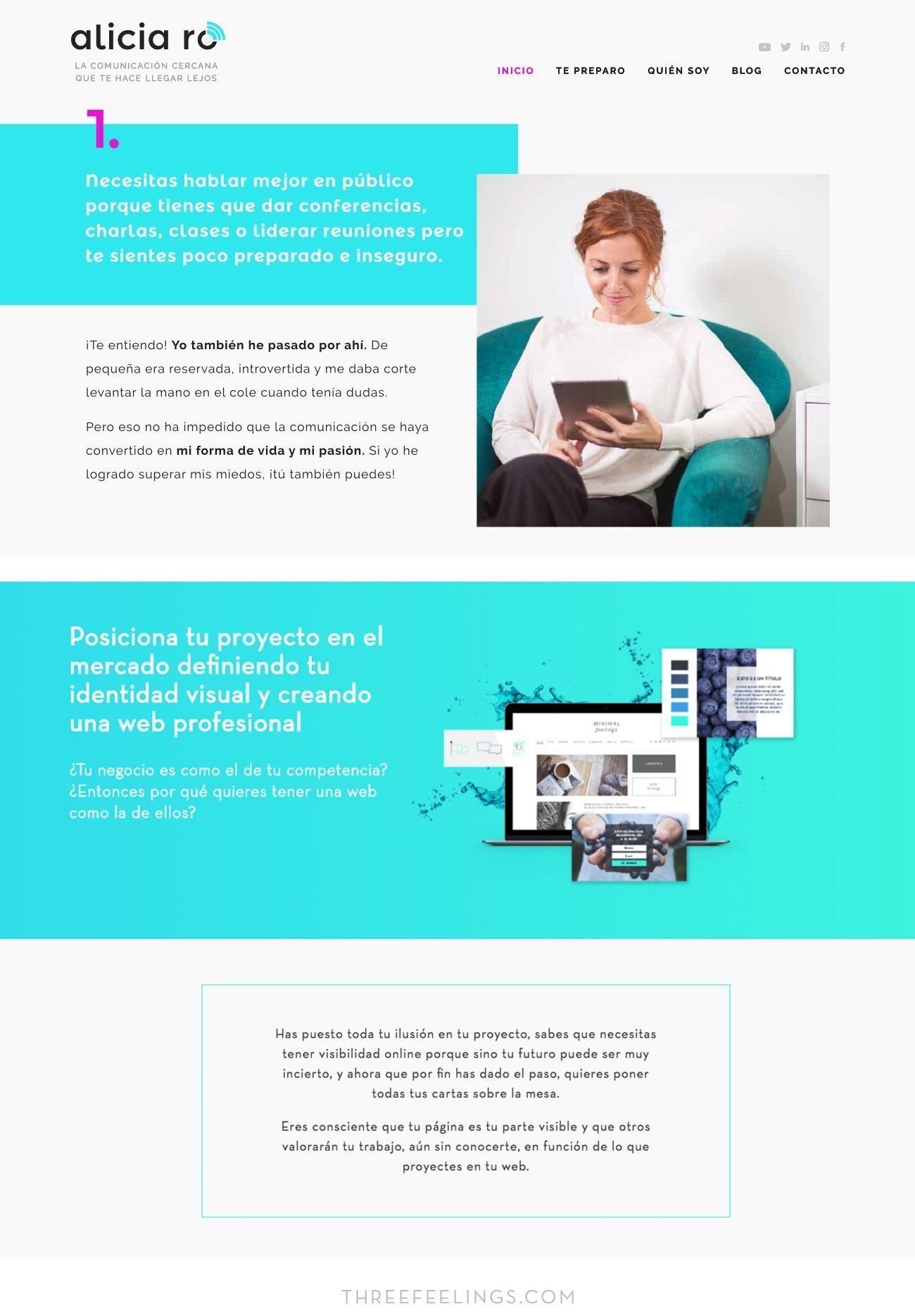 Tendencias de diseño web de 2017 - degradados fluor