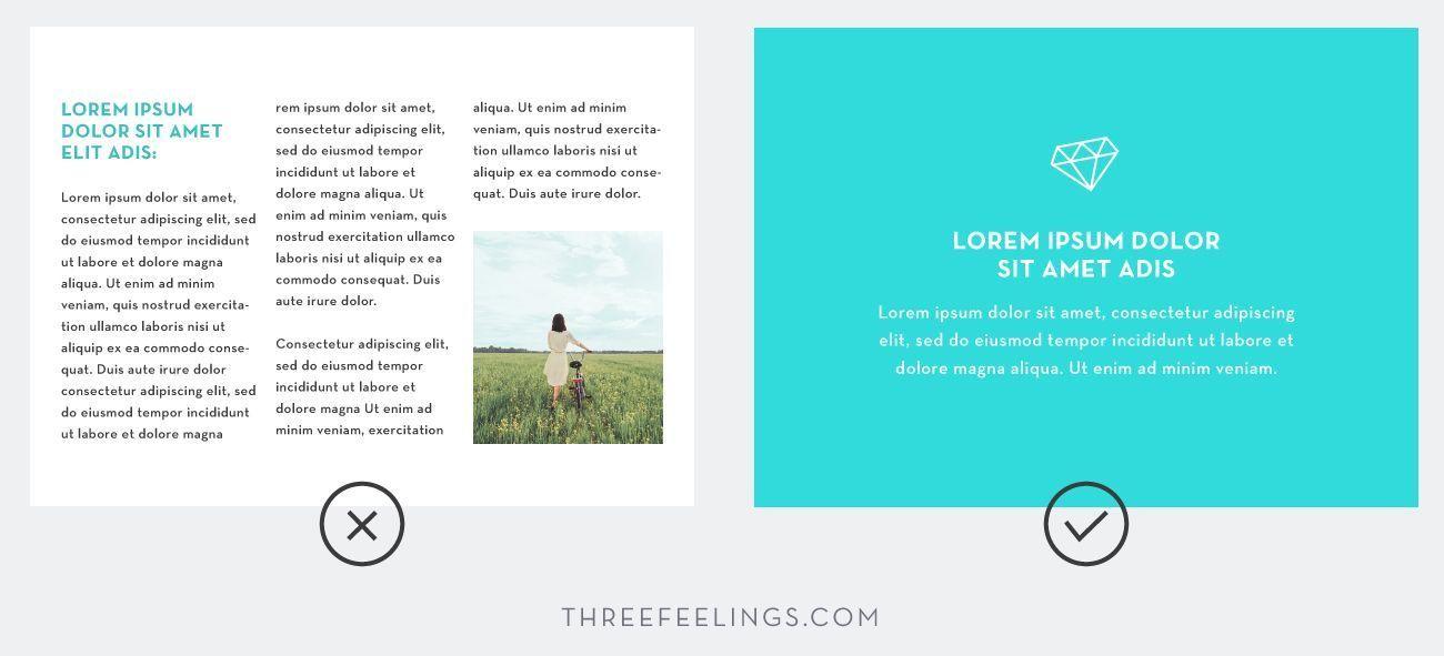 Trucos esenciales para diseñar presentaciones - espacios