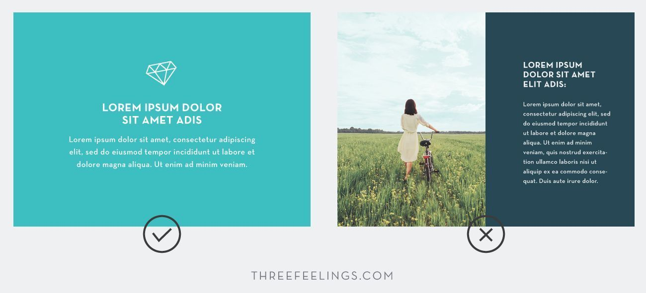 Trucos esenciales para diseñar presentaciones - abuso de oscuros