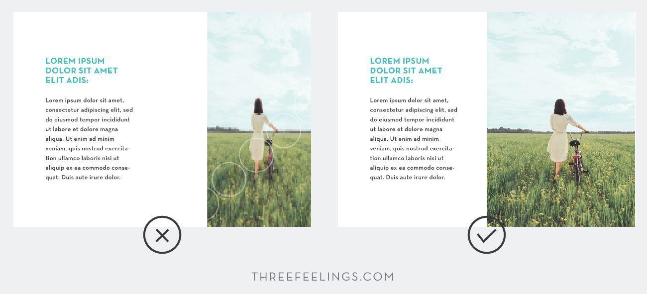 Trucos esenciales para diseñar presentaciones - calidad de imagen