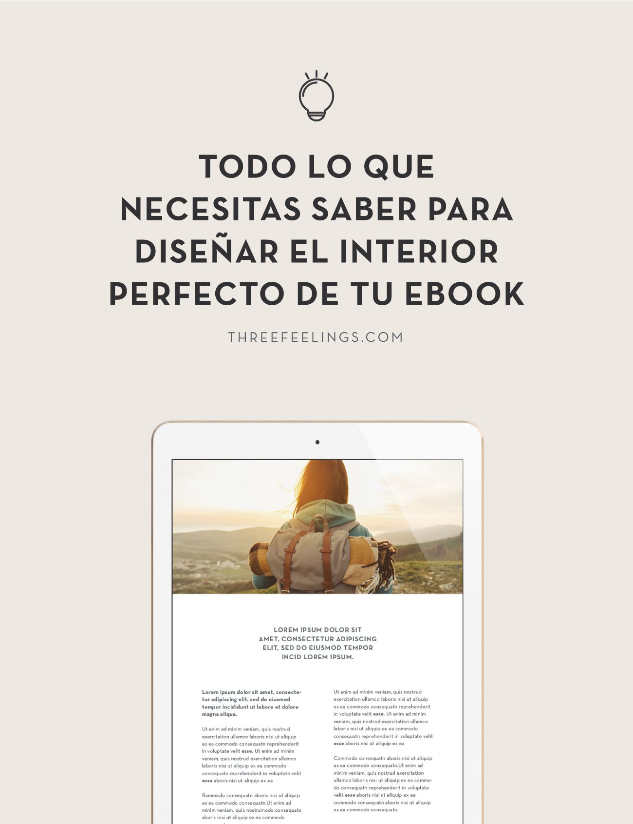 Diseño de interior de ebook