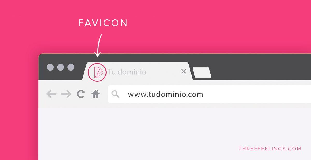 Pequeños detalles de tu web que marcarán la diferencia - favicon