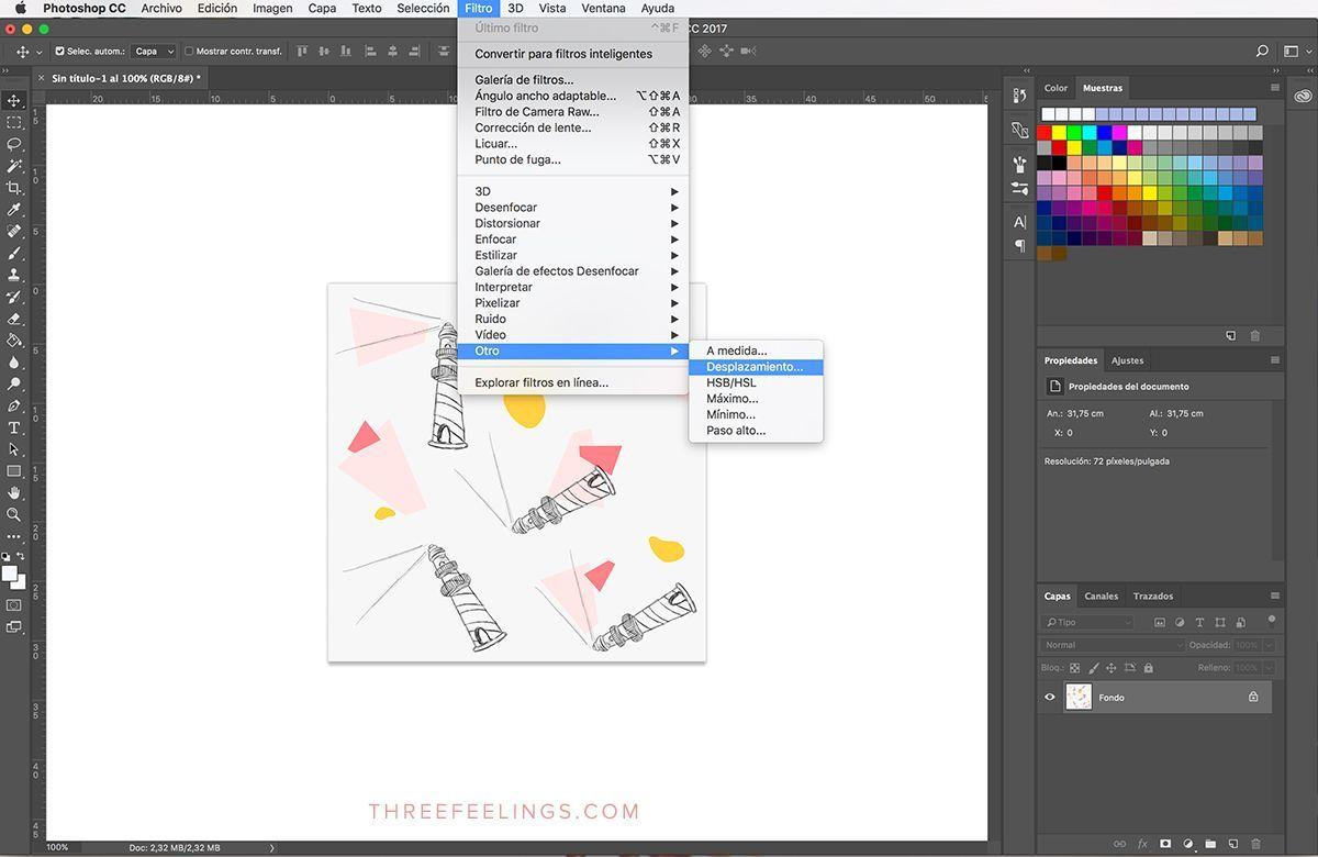 Aprende A Crear Un Estampado Con Photoshop De Forma Fácil