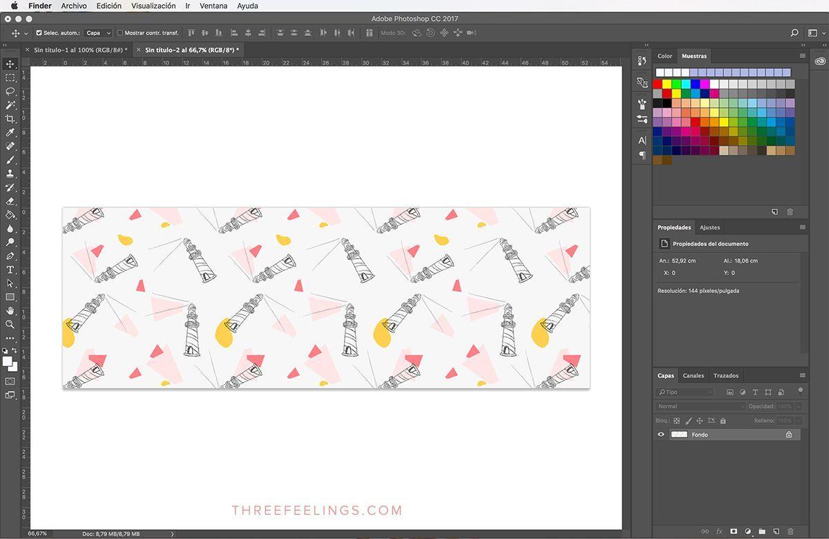 Aprende A Crear Un Estampado Con Photoshop De Forma Facil